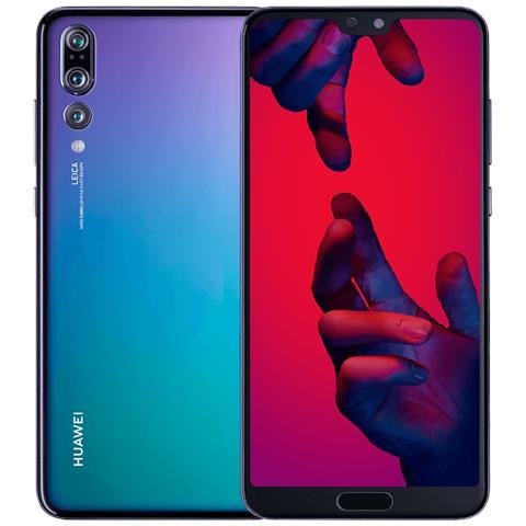 "HUAWEI P20 Pro Twilight 128 GB 4G / LTE Dual Sim Impermeabile Display 6.1"" Full HD+ Fotocamera 40 Mpx Android Italia"