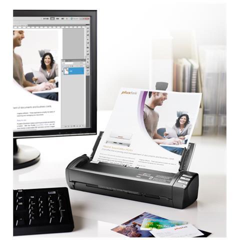 MobileOffice AD450, 216 x 431,8 mm, 600 x 600 DPI, CIS, PDF, TWAIN, Biglietto da visita, P...