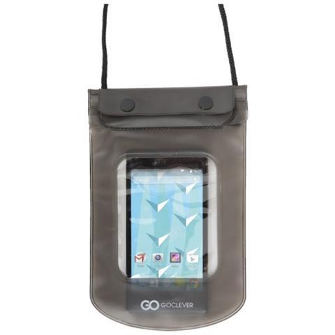 Goclever Custodia Impermeabile Per Smartphone Fino A 6 Pollici Galleggia In Acqua Touchscreen