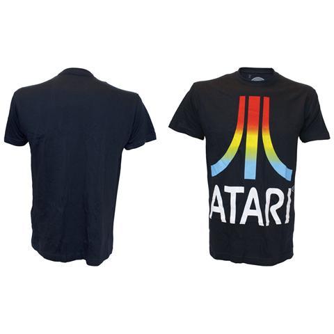 BIOWORLD Atari - Gradient Logo Black (T-Shirt Unisex Tg. S)
