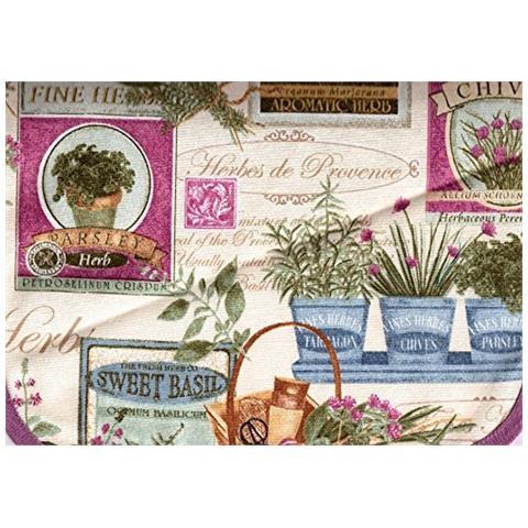 Cieffepi Home Collections - Sottopentola Quadrifoglio Garden Glicine