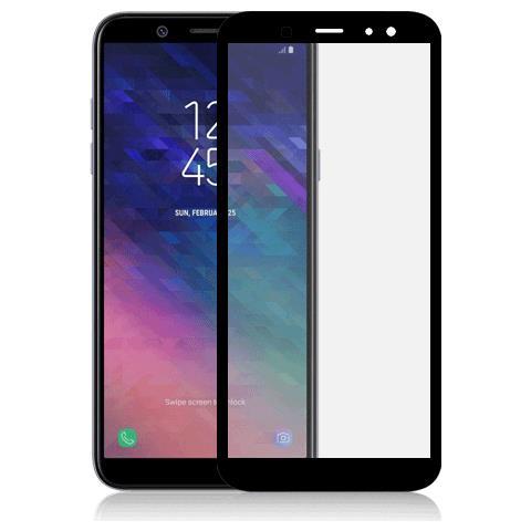 FONEX SCREEN GLASS 2,5D 0,33 MM. PER SGH GALAXY A6 2018 BLACK (1 PZ)
