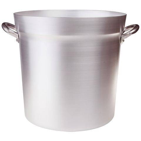 AGNELLI Pentola Tipo Nord Maniglie Alluminio (senza Coperchio Pesante) - Diametro Cm 46 - Altezza Cm 46-capacità Lt 76,5