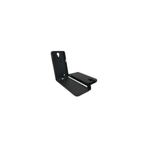 Samsung Custodia Samsung Galaxy Mega 6.3 I9200 Top Open En Pelle Black