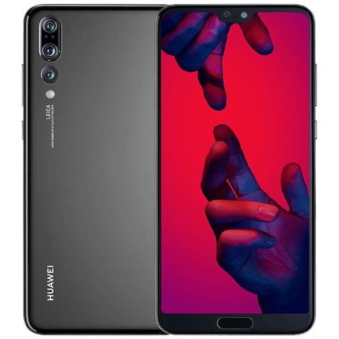 "HUAWEI P20 Pro Nero 128 GB 4G / LTE Dual Sim Impermeabile Display 6.1"" Full HD+ Fotocamera 40 Mpx Android Italia"