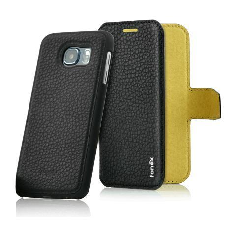 FONEX Magnetic Detachable Custodia 2 in 1 per Galaxy S7 Colore Nero