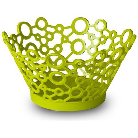 GiòStyle Cestino tondo milleusi forme in verde