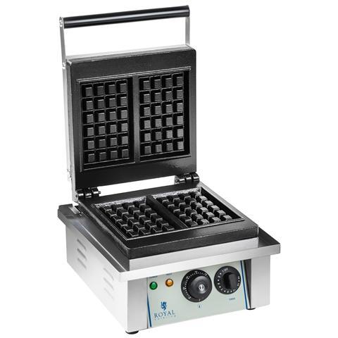 Piastra Per Waffel - 1 X 2.000 Watt - Rettangolare - 2.0