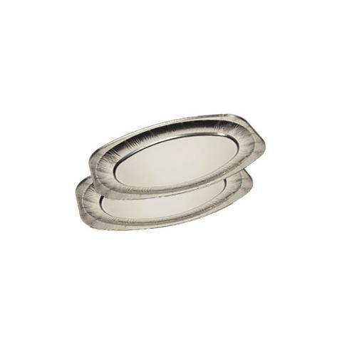 EUROPACK Pack 10 Vassoi alluminio