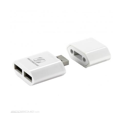 SCOSCHE coverCHARGE Adattatore con 2 porte USB per caricatore smartphone