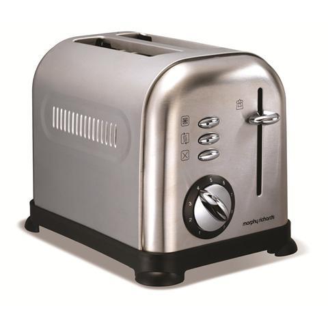 MR44328 Tostapane Accents 950 Watt Colore Silver