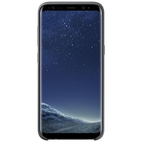 SAMSUNG Cover in Silicone per Galaxy S8 Colore Grigio