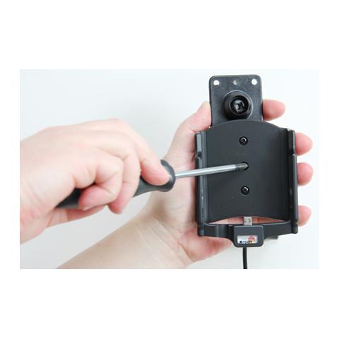 BRODIT 521731 Auto Active holder Grigio supporto per personal communication