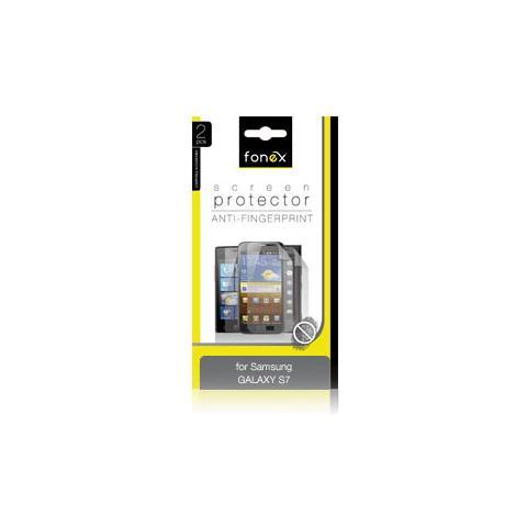 FONEX Pellicola Protettiva Anti Impronta per Galaxy S7 (2Pz)