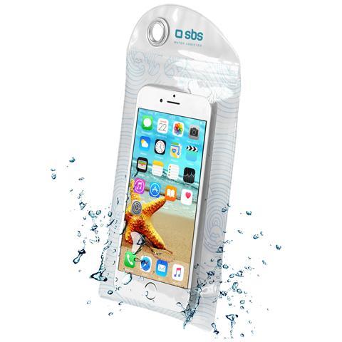 SBS Custodia Water Resistant Per Smartphone Fino A 5,5'