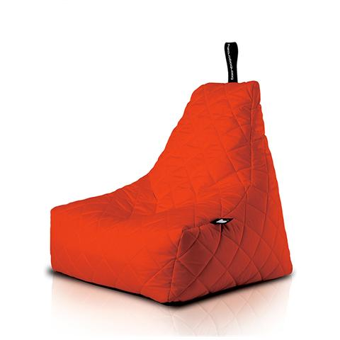 Poltrona A Sacco Outdoor Mighty-b Red Trapuntata