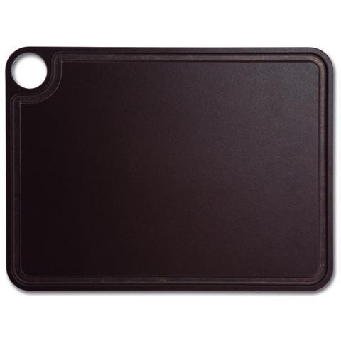 Taglieri - Resina E Fibra Di Cellulosa 37,7 X 27,7 Cm E 6,5 Mm Spessore - Colore Marrone