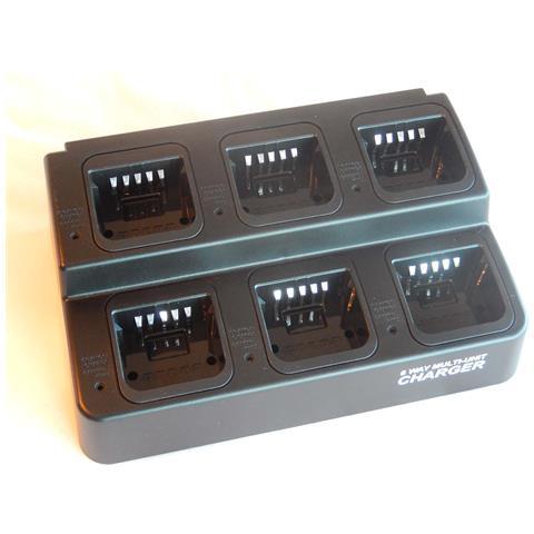 220v Caricabatterie Per Radio Batteria Motorola Pro5350, Pro5450, Pro5550, Pro5750, Pro775...