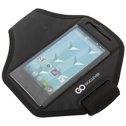 Goclever Fascia Porta Cellulare Per Smartphone Fino A 4.5 Pollici