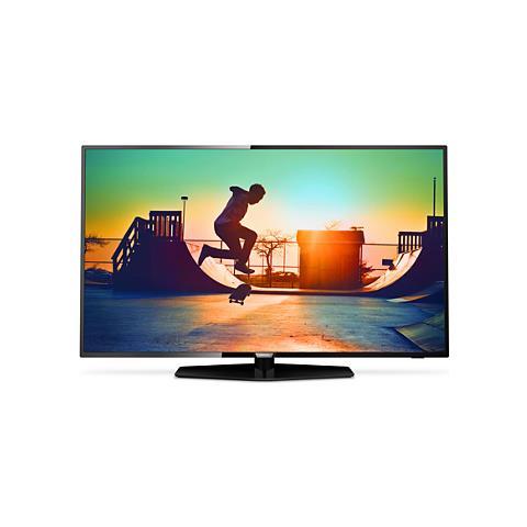 "PHILIPS TV LED Ultra HD 4K 49"" 49PUS6162/12 Smart TV UltraSlim"