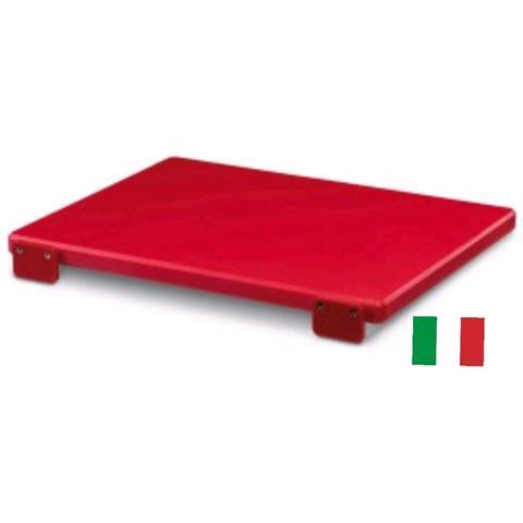 Tagliere Macellaio Rosso 60x40x2