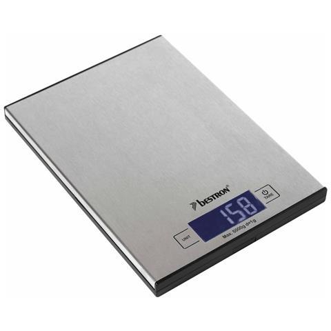 Bilancia Da Cucina Elettronica Aks1000s Inox 5 Kg