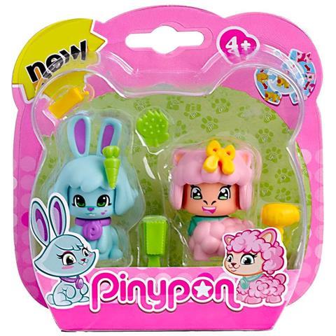 FAMOSA Pinypon - 2 Cuccioli - Coniglio E Pecora