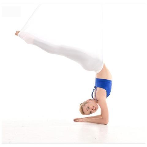 Cinture Antigravità Per Altalena In Seta Premium Per Amaca Yoga Aerea Aerial Rosso