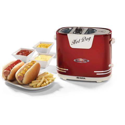 Hotdog Party Time Macchina per Hot Dog Colore Rosso