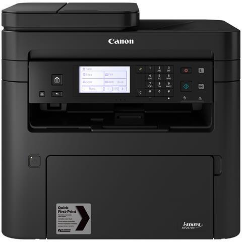 Image of Stampante Multifunzione i-Sensys MF267dw Laser B / N Stampa Copia Scansione Fax A4 28 ppm Wi-Fi Ethernet USB 2.0