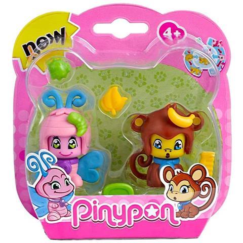 FAMOSA Pinypon - 2 Cuccioli - Farfalla E Scimmia