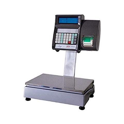 Bilancia Peso Prezzo Con Scontrino Spes Ego2000 Stand Alone - 2 Operatori - Portata 12/30 Kg Div. 2/5 G - Omologata Ce E Certificata Uso Con Terzi