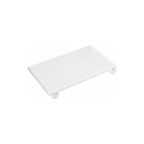 Tagliere polietilene 53x32,5x2h bianco