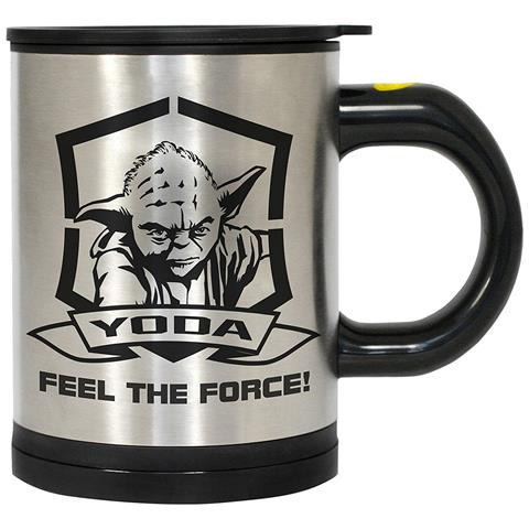 Mug Yoda Star Wars Self Stirring Thermo