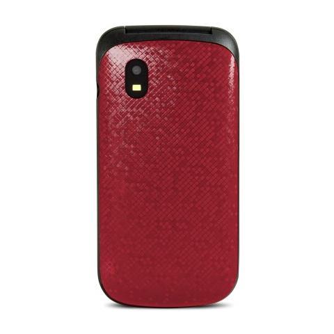 "SWISSTONE SC330 Dual Sim Display 1.77"" Fotocamera Colore Rosso - Europa"