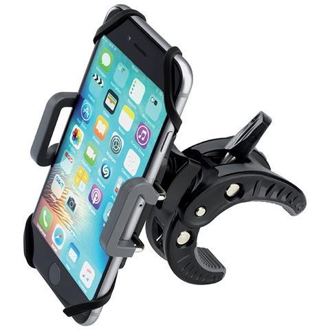 PNY Supporto Smartphone per Bicicletta per Smartphone Colore Nero