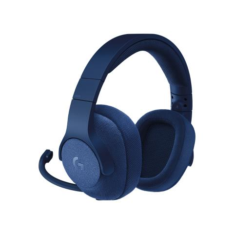 LOGITECH - Cuffie Gaming G433 con microfono 7.1 colore Blu 4573652fff26