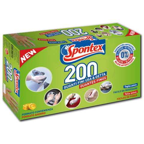 Spontex Multiuse 200 Taglia Unica