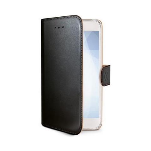 CELLY Flip Cover Custodia per Motorola Moto E 4 Nero