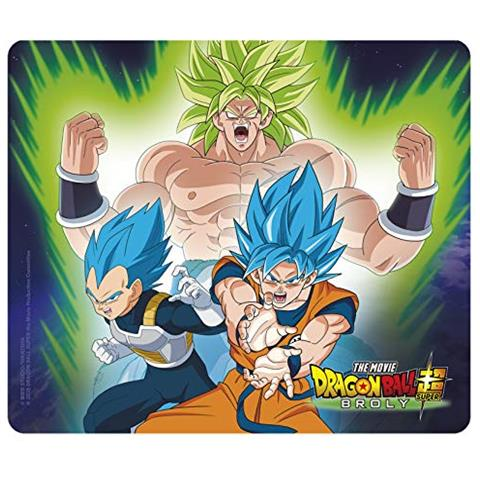 ABYSTYLE Dragon Ball Super Broly - Tappetino Per Mouse - Broly Vs Goku & Vegeta