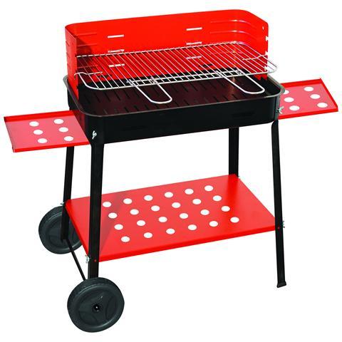 Barbecue C / ruote Cm. 50x35x80h Mod. 503r