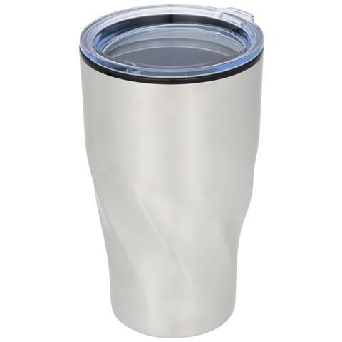 Hugo Bicchiere Da Viaggio Con Isolamento Termico (taglia Unica) (argento)