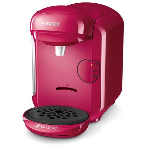 Macchina da Caffè Combi TASSIMO VIVY 2 Serbatoio 0.7 Lt. Potenza 1300 Watt Colore Rosa
