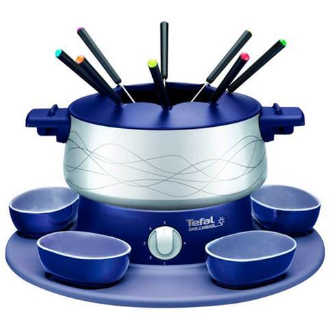 Fondue Semplicemente Invents Indigo Blu Grigio 800w 8 Persone Ef351412