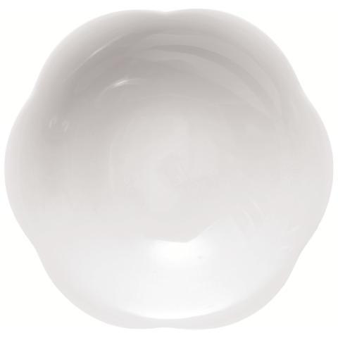 EXCELSA Piatto Fondo Bianco in Porcellana Orion 22,0 cm