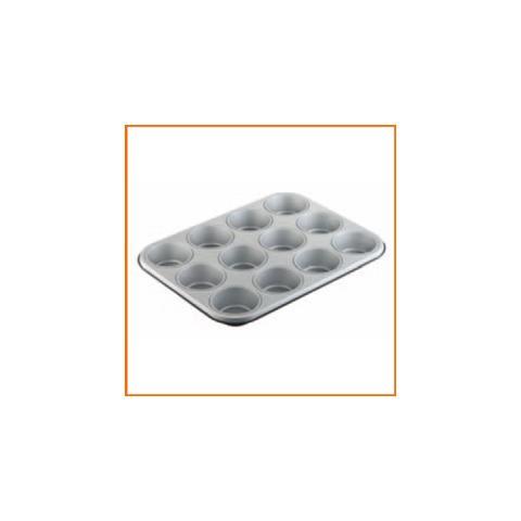 Vassoio Con 12 Stampini Per Muffin Stampi Da Forno
