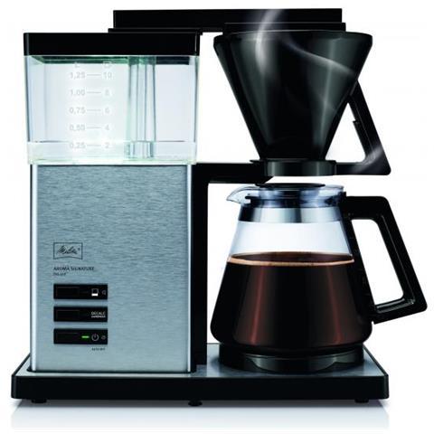 Aroma Signature Deluxe Libera Installazione Semi-automatica Macchina Da Caffè Con Filtro 1.25l 10tazze Nero, Acciaio Inossidabile