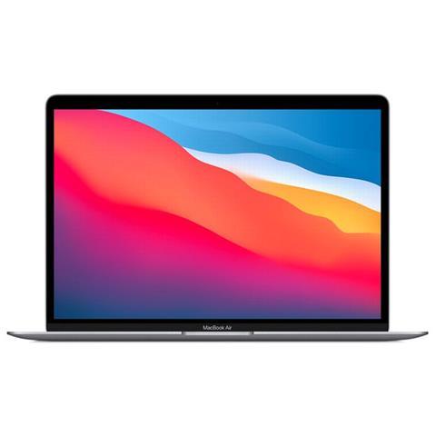 Image of MacBook Air Chip Apple M1 CPU 8-core, GPU 8-core e Neural Engine 16-core. SSD 512 GB, RAM 8 GB, MacOS Big Sur - Grigio siderale