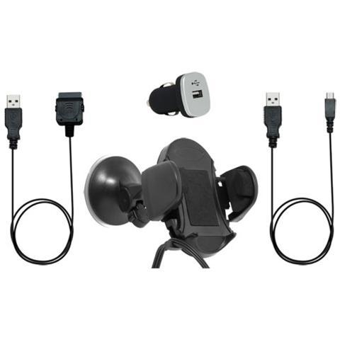 BLUEWAY PACKVOITUREUNIV Auto Passive holder Nero supporto per personal communication