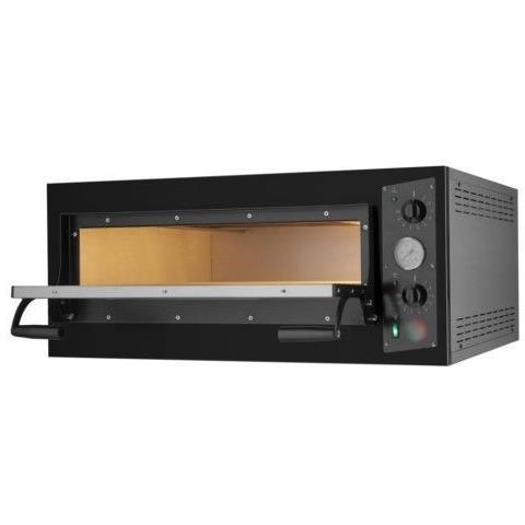Forno Pizzeria, professionale elettrico meccanico per Pane, Pizza - 6 pizze ø33 cm - Dimensioni 94x125x40